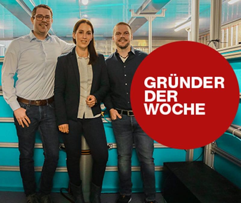 Gründer der Woche: SEAWATER Cubes – die Fischzucht der Zukunft